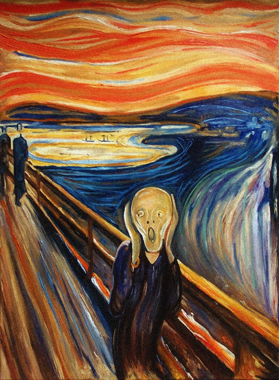 L'urlo (di Edvard Munch)