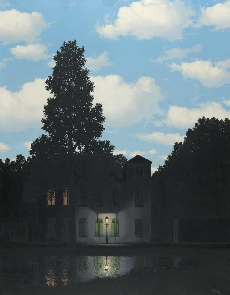 René Magritte, L'impero della luce